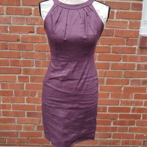Ann Taylor Loft 0petite linen dress